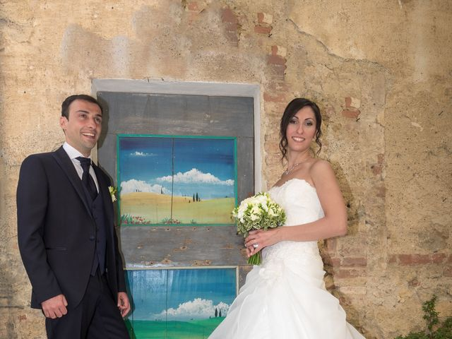 Il matrimonio di Matteo e Giovanna a Monteriggioni, Siena 15