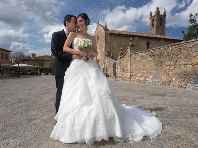 Il matrimonio di Matteo e Giovanna a Monteriggioni, Siena 16