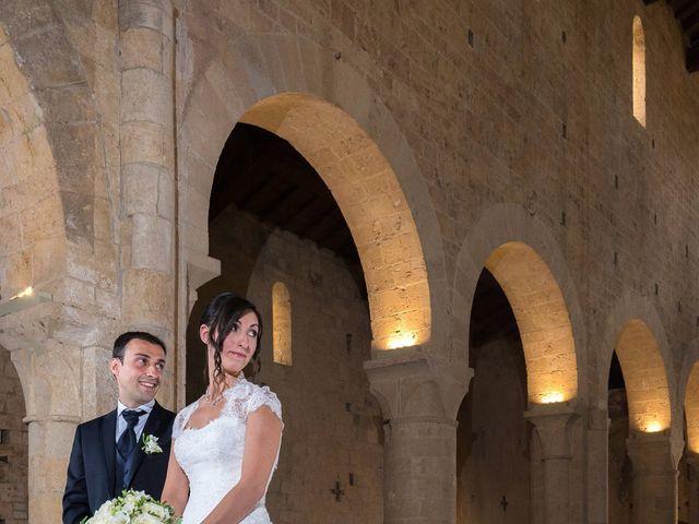 Il matrimonio di Matteo e Giovanna a Monteriggioni, Siena 22