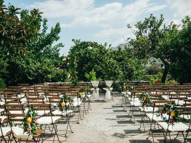 Il matrimonio di Mattew e Lauren a Savoca, Messina 24