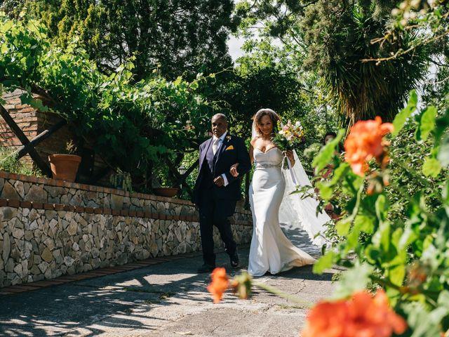 Il matrimonio di Mattew e Lauren a Savoca, Messina 28