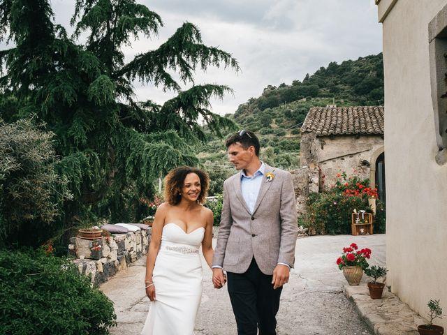 Il matrimonio di Mattew e Lauren a Savoca, Messina 57