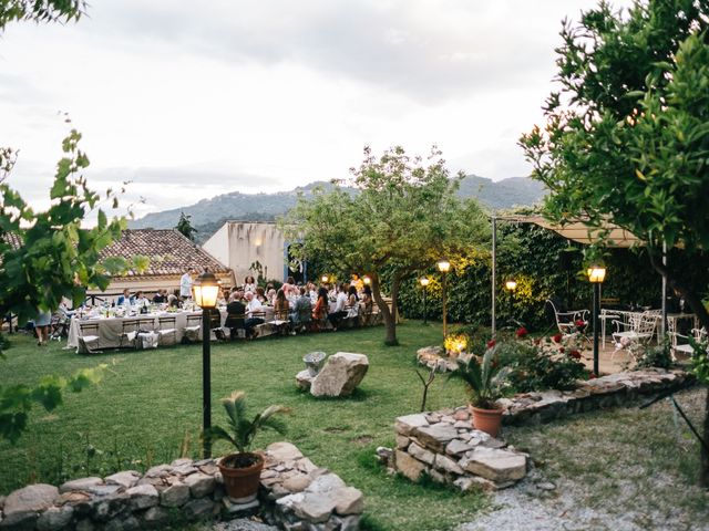 Il matrimonio di Mattew e Lauren a Savoca, Messina 75