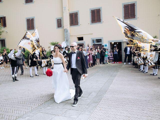 Il matrimonio di Federico e Elisa a Certaldo, Firenze 16