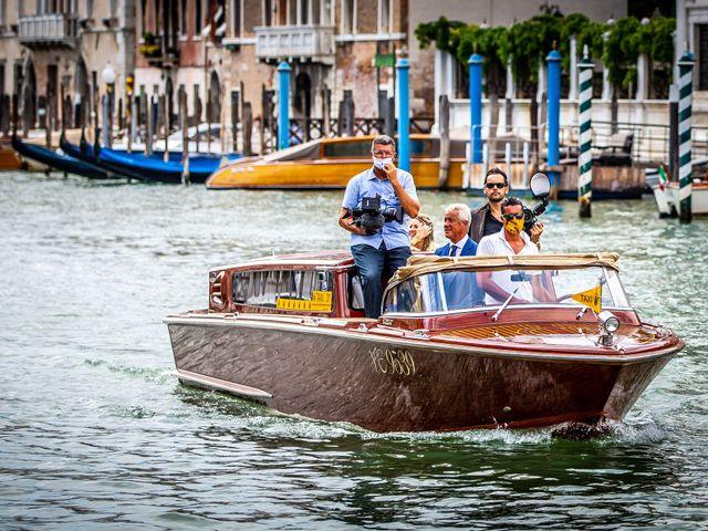 Il matrimonio di Davide e Luana a Lido di Venezia, Venezia 52