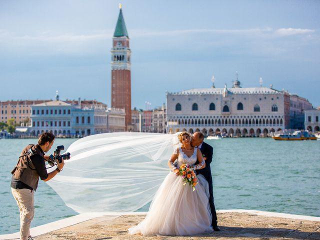 Il matrimonio di Davide e Luana a Lido di Venezia, Venezia 73