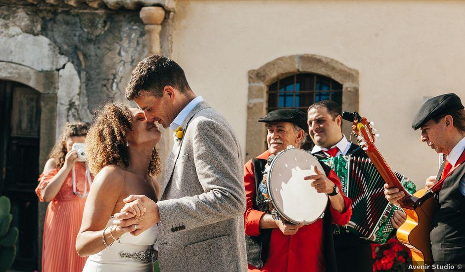 Il matrimonio di Mattew e Lauren a Savoca, Messina