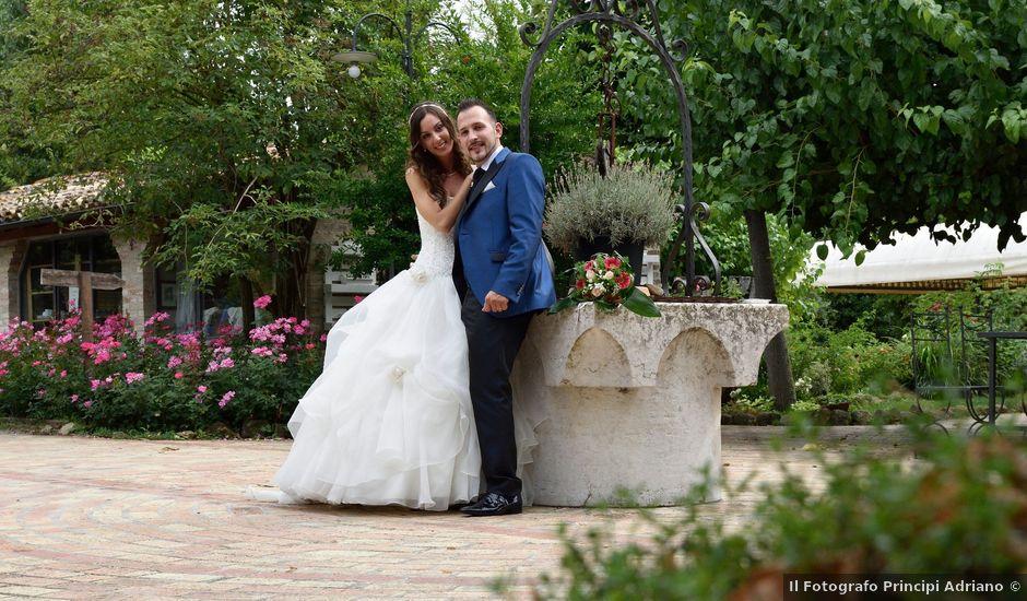 Il matrimonio di Matteo e Eleonora a Camerino, Macerata