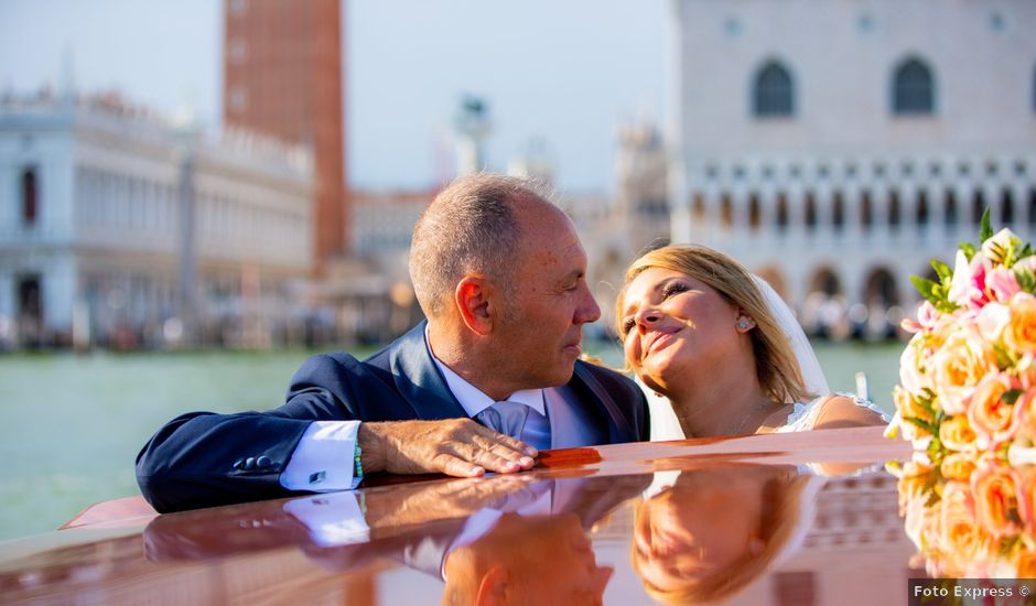 Il matrimonio di Davide e Luana a Lido di Venezia, Venezia