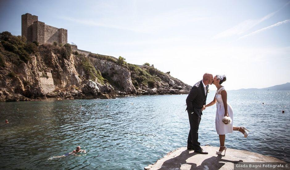 Il matrimonio di Jacopo e Alice a Albinia, Grosseto
