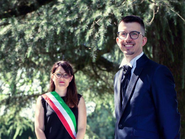 Il matrimonio di Daniele e Roberta a Torre d'Isola, Pavia 34