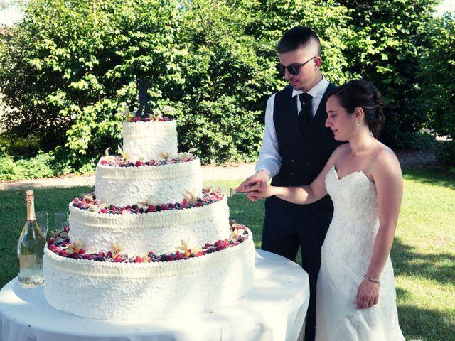 Il matrimonio di Daniele e Roberta a Torre d'Isola, Pavia 64