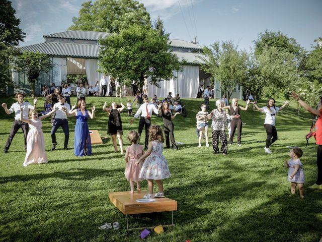 Il matrimonio di James e Elisa a Lentate sul Seveso, Monza e Brianza 64