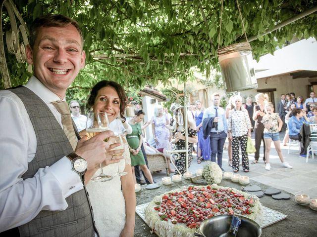 Il matrimonio di James e Elisa a Lentate sul Seveso, Monza e Brianza 66