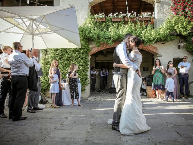 Il matrimonio di James e Elisa a Lentate sul Seveso, Monza e Brianza 67