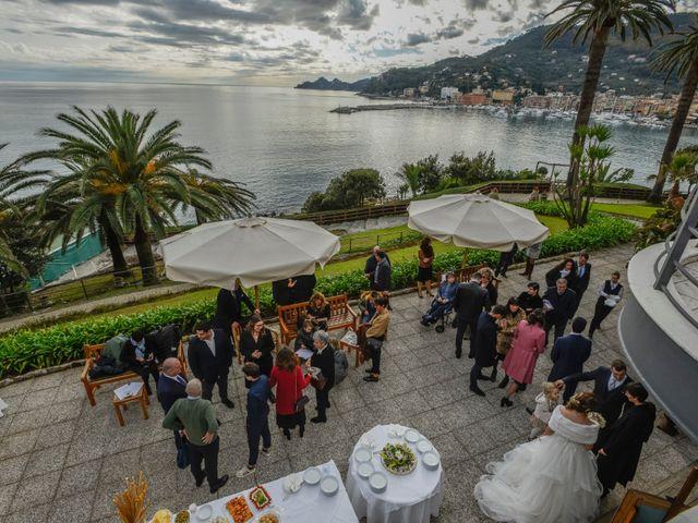 Il matrimonio di Fabio e Marcella a Rapallo, Genova 23