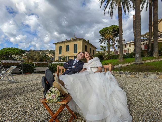 Il matrimonio di Fabio e Marcella a Rapallo, Genova 25