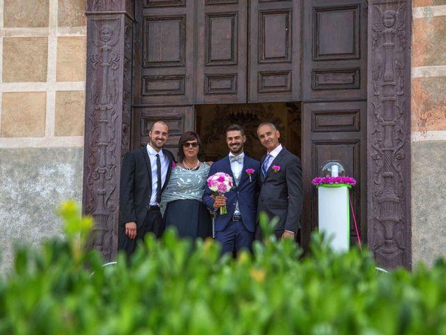 Il matrimonio di Mattia e Federica a Pisogne, Brescia 13