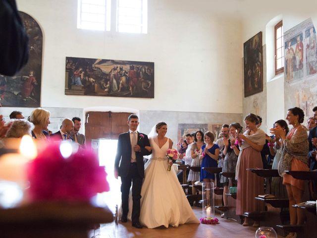 Il matrimonio di Mattia e Federica a Pisogne, Brescia 16