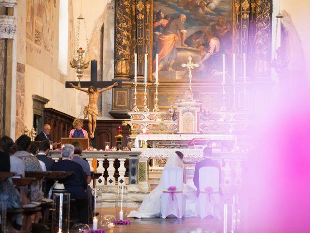 Il matrimonio di Mattia e Federica a Pisogne, Brescia 17