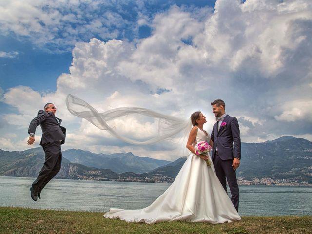 Il matrimonio di Mattia e Federica a Pisogne, Brescia 25