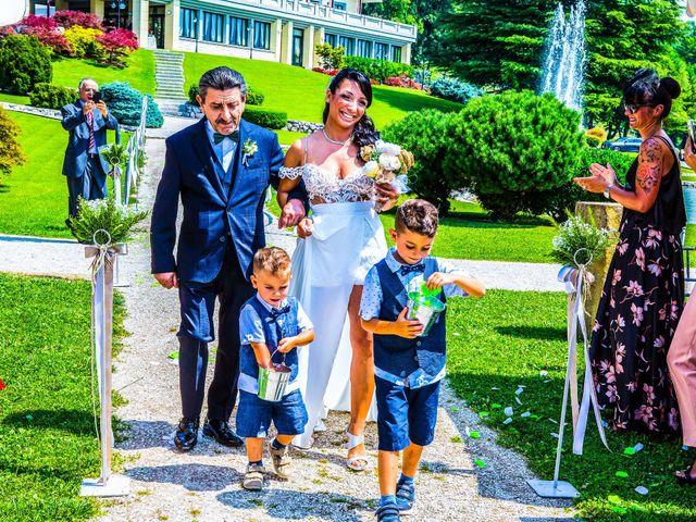 Il matrimonio di Enrico e Alessandra a Nembro, Bergamo 20