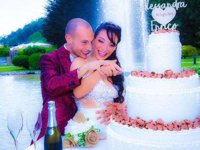 Il matrimonio di Enrico e Alessandra a Nembro, Bergamo 48