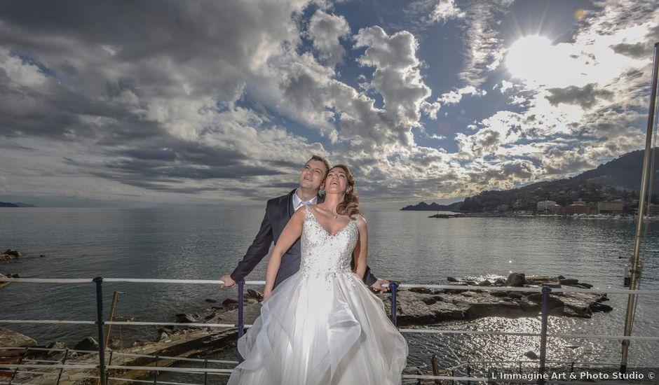 Il matrimonio di Fabio e Marcella a Rapallo, Genova