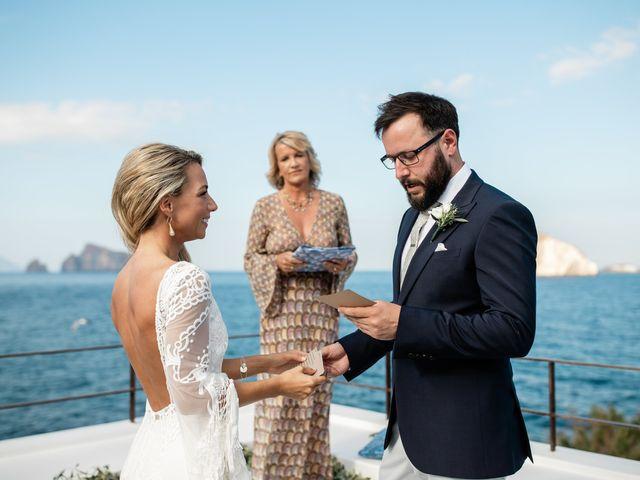 Il matrimonio di Zoe e Matt a Stromboli, Messina 42