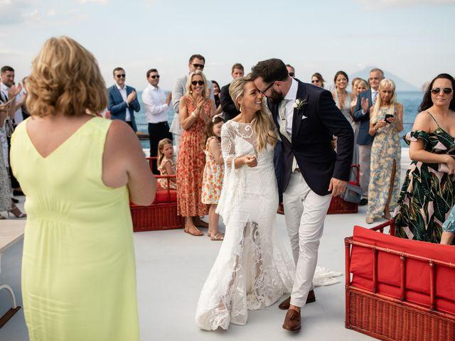 Il matrimonio di Zoe e Matt a Stromboli, Messina 47