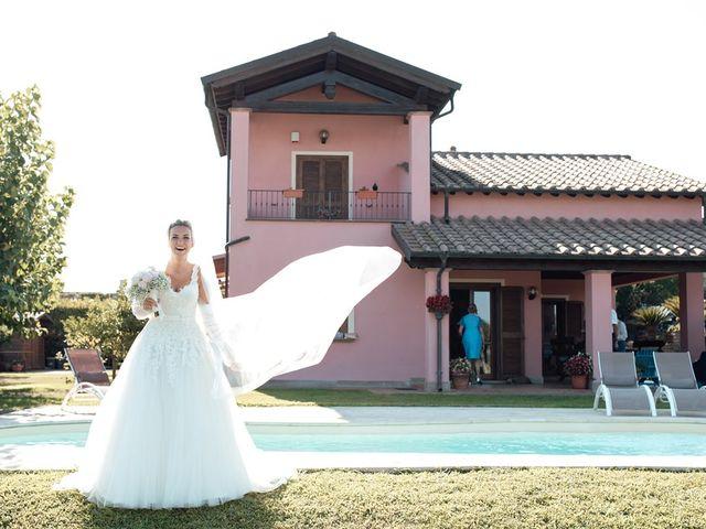 Il matrimonio di Jennifer e Francesco a Anguillara Sabazia, Roma 18