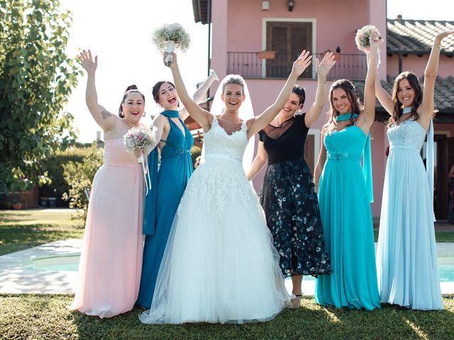 Il matrimonio di Jennifer e Francesco a Anguillara Sabazia, Roma 20