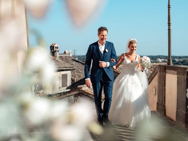 Il matrimonio di Jennifer e Francesco a Anguillara Sabazia, Roma 22
