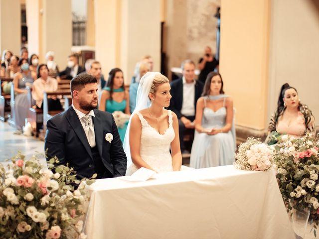 Il matrimonio di Jennifer e Francesco a Anguillara Sabazia, Roma 25