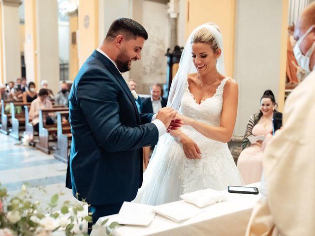 Il matrimonio di Jennifer e Francesco a Anguillara Sabazia, Roma 26