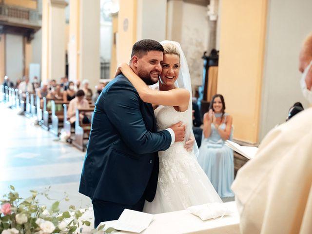 Il matrimonio di Jennifer e Francesco a Anguillara Sabazia, Roma 28