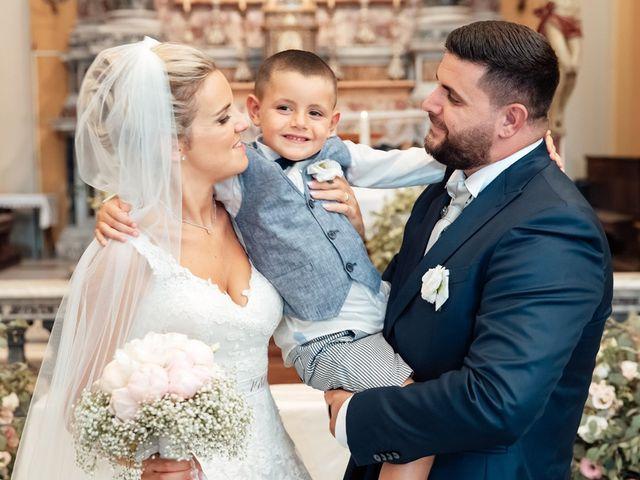 Il matrimonio di Jennifer e Francesco a Anguillara Sabazia, Roma 29