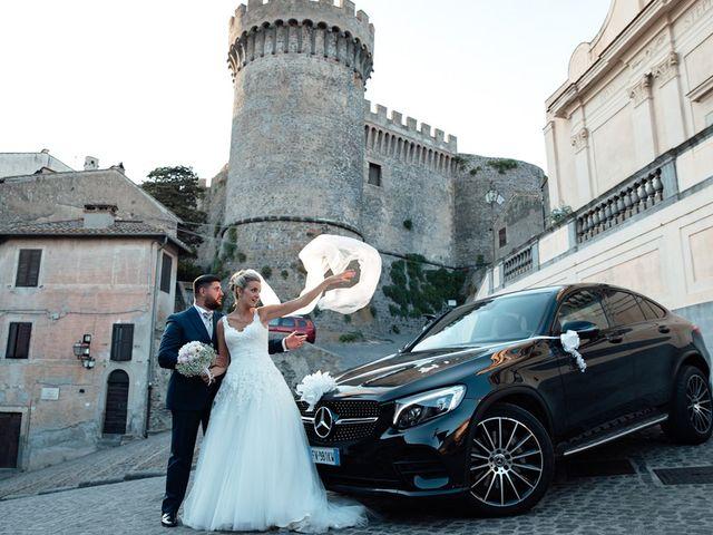 Il matrimonio di Jennifer e Francesco a Anguillara Sabazia, Roma 33