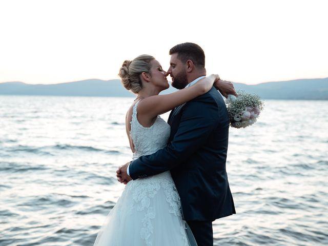 Il matrimonio di Jennifer e Francesco a Anguillara Sabazia, Roma 35