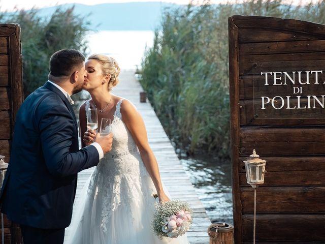 Il matrimonio di Jennifer e Francesco a Anguillara Sabazia, Roma 40