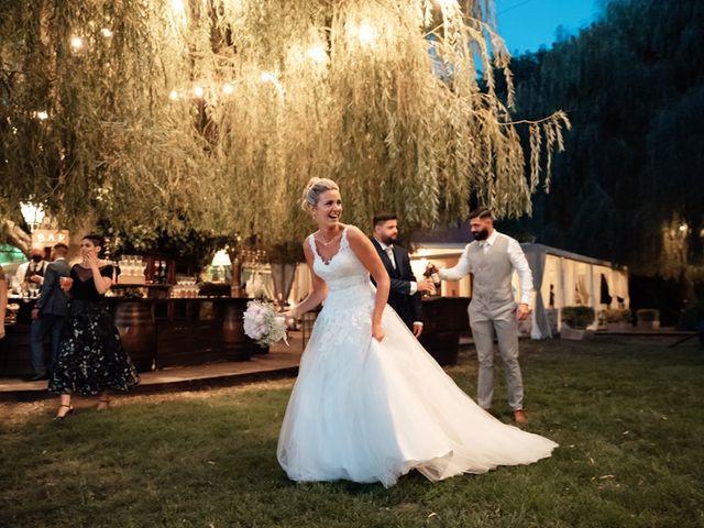 Il matrimonio di Jennifer e Francesco a Anguillara Sabazia, Roma 42
