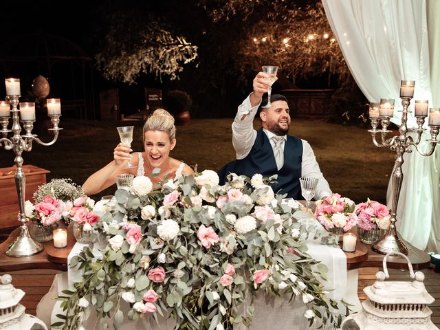 Il matrimonio di Jennifer e Francesco a Anguillara Sabazia, Roma 48