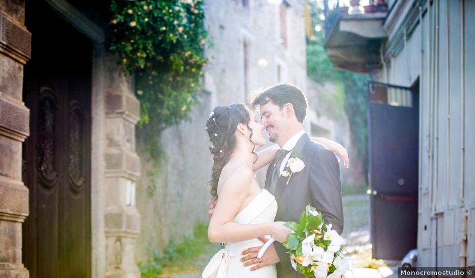 Il matrimonio di Elisabetta e Andrea a Sant'Antonino di Susa, Torino