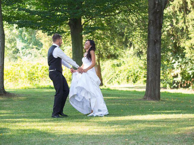 Il matrimonio di Andrea e Valentina a Viverone, Biella 1