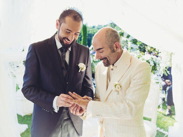 Il matrimonio di Marco e Carlo a Bagnone, Massa Carrara 24