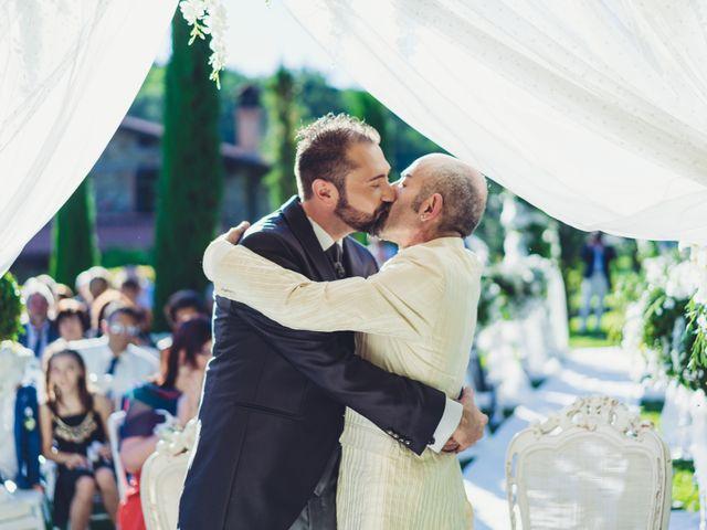 Il matrimonio di Marco e Carlo a Bagnone, Massa Carrara 25