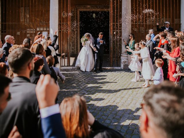 Il matrimonio di Emanuele e Monia a Roma, Roma 35