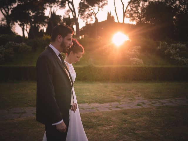 Il matrimonio di Mariafrancesca e Luca a Roma, Roma 42