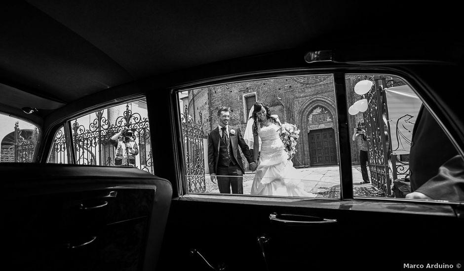 Il matrimonio di Andrea e Valentina a Viverone, Biella