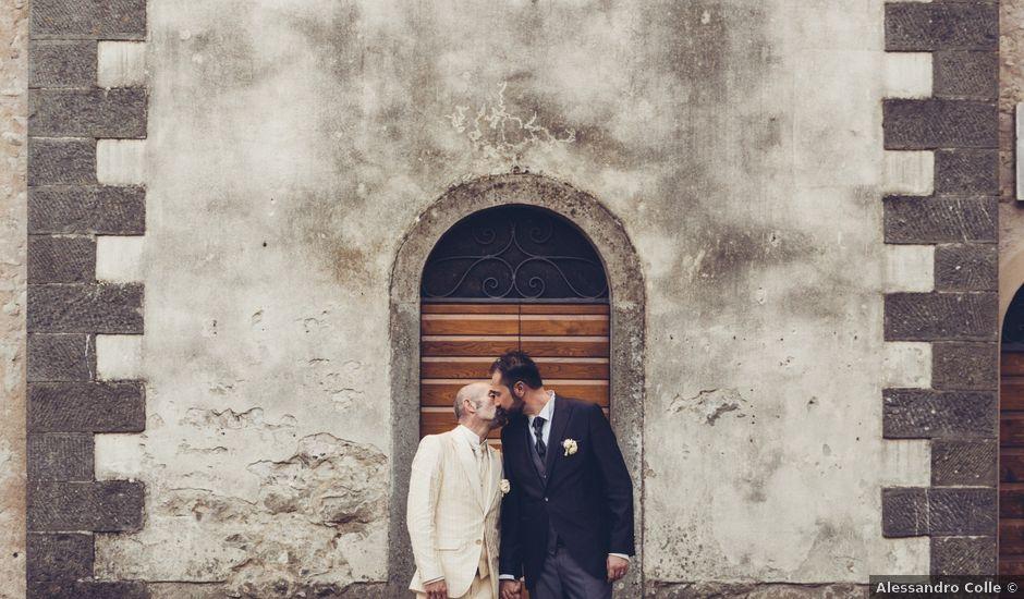 Il matrimonio di Marco e Carlo a Bagnone, Massa Carrara